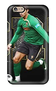 Iphone 6 Case Cover - Slim Fit Tpu Protector Shock Absorbent Case (cristiano Ronaldo Poster)