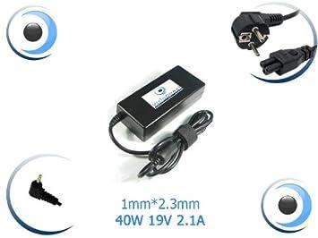 Adaptador cargador para ordenador portátil ASUS eee pc 1025C-GRY021S Visiodirect: Amazon.es: Electrónica