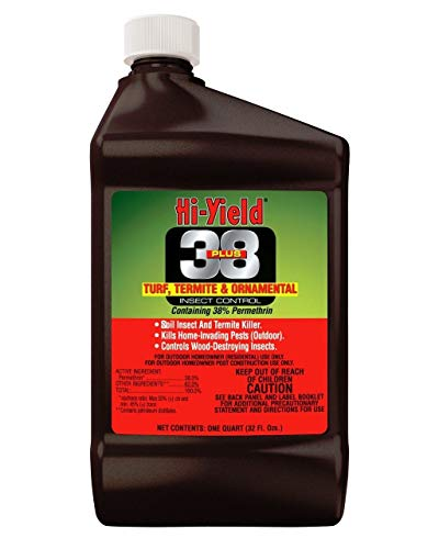 Hi-Yield 38 Plus Permethrin Turf Termite and Ornamental Insect Control, 16 Oz. Bottle from Hi-Yield