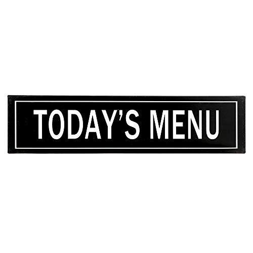 (Barnyard Designs Today's Menu Retro Vintage Tin Bar Sign Rustic Country Home Decor 15.75
