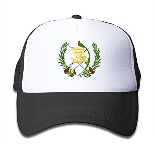 (Guatemala Flag Adjustable Snapback Hat Summer Golf Hat For Girl Boy One Size Fits Most)
