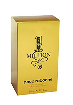 Paco Rabanne 1 Million By Paco Rabanne For Men Eau De Toilette Spray, 1.7-ounce50 Ml 1