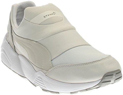 PUMA Select Mens Stampd Trinomic Sock Sneakers White