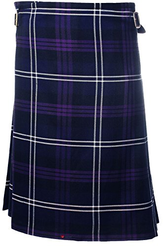 (Gents Lightweight Casual Party Kilt Heritage of Scotland Tartan-50-52)