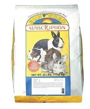 Sun Seed Company Sss49085 Vita Prima Daily Diet Rabbit Food, 25-Pound