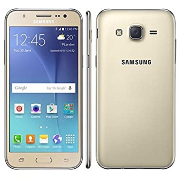 Samsung Galaxy J7 SM-J700H/DS GSM Factory Unlocked Smartphone-Android 5.1, 5.5 Gold