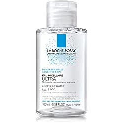 La Roche-Posay Micellar Cleansing Water and Makeup Remover for Sensitive Skin, 3.38 Fl. Oz.