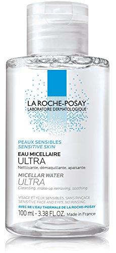 La Roche-Posay Micellar Cleansing Water for Sensitive Skin, 3.38 Fl. Oz.