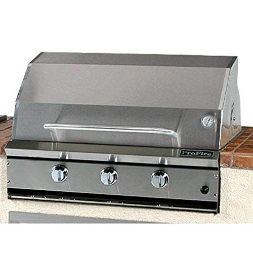 Profire Professional Series 36 Inch Natural Gas Grill - Built-in
