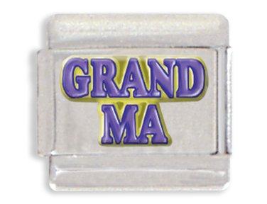 Grandma Italian Charm Bracelet Link