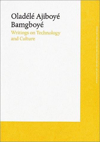 Writings On Technology And Culture - Mari Bartomeu