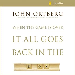 When the Game Is Over, It All Goes Back in the Box Audiobook