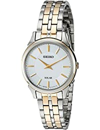 Women's Quartz Stainless Steel Casual Watch, Color:Two Tone (Model: SUP344)