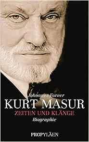 Kurt Masur Conductor Short Biography 13