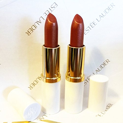(New! Estee Lauder Full Size Lipstick Pure Color 86 Tiger Eye Shimmer Duo)