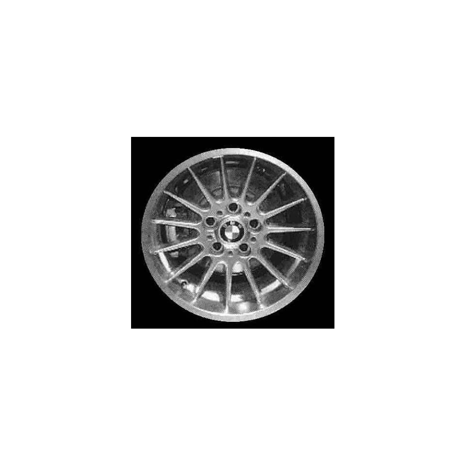 98 99 BMW 323IS 323 is ALLOY WHEEL RIM 17 INCH, Diameter 17, Width 7.5 (15 SPOKE, NATURAL FINISH), 41mm offset Style #32, SILVER, 1 Piece Only, Remanufactured (1998 98 1999 99) ALY59295U10