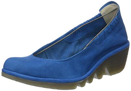 Punta col Scarpe Donna London Fly Tacco Chiusa Pled819fly Electric Blu Blue qFxXtwEZ