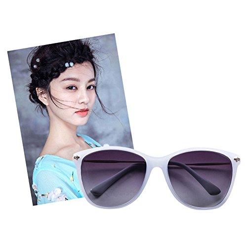 DT 3 para de polarizadas UV para Protección Mujer 4 Redondo Rostro de Gafas Gafas Color Sol TwTrR4q