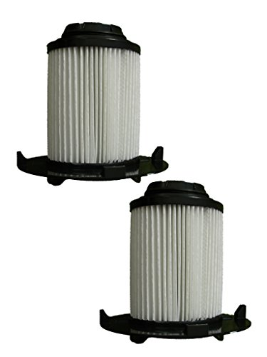 (2) Royal Dirt Devil F16 HEPA Vacuum Filter, Vision, Envision wide glide Uprights Vacuum Cleaners, F16, 2JW1000000, 086710, 86710, and all other Dirt Devil vacuums using the F16 filter (Dirt Devil Vision Upright)