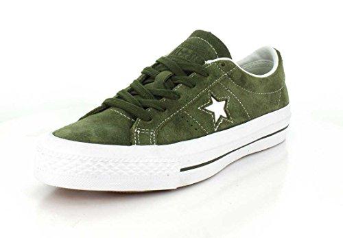 - Converse Unisex One Star Pro Low Top Herbal Sneaker - 10.5 Men - 12.5 Women