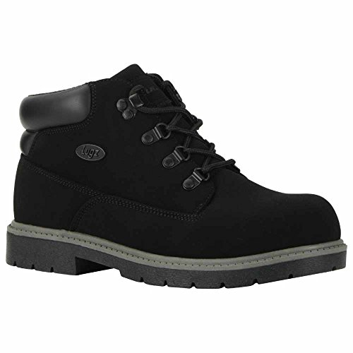 Lugz Men's Cargo Fashion Sneaker, Black Buck, 12 D US