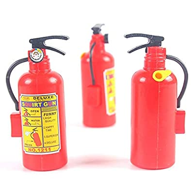 Deerbb Water Gun Mini Simulation Fire Extinguisher Fireman Children Play Summer Water Shoot Toy Pool Spray Gun: Toys & Games