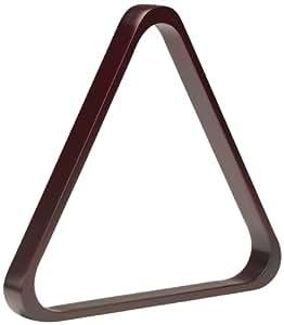 Pro Series TR8-C Doweled Wooden Billiard Ball 8-Ball Triangle Rack, Cherry