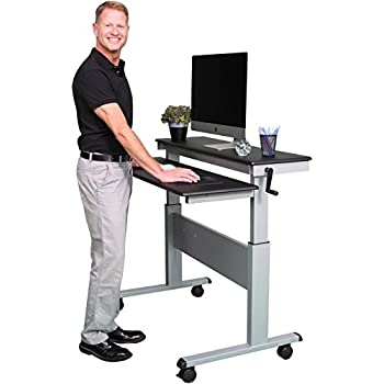 Amazon Com Stand Up Desk Store 48 Inch Adjustable Desk