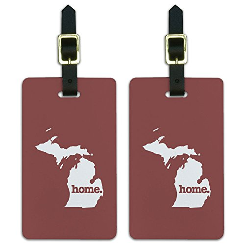 Michigan Home State Luggage Suitcase