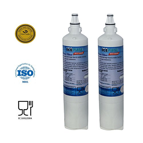ICEPURE PRO LT600P NSF 53&42 Certified Refrigerator Water Filter, Compatible with LT600P, 5231JA2006A,...