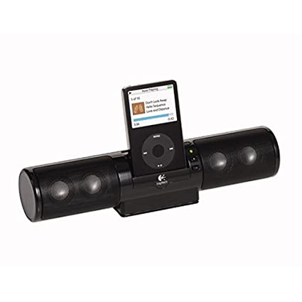 Logitech mm32 Portable Speaker System for Pod and other MP3 Players(Black)