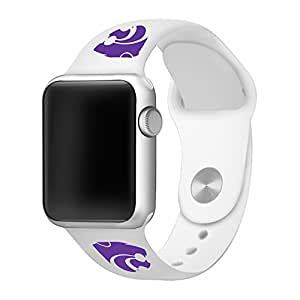 Kansas State Wildcats 38mm Silicone Sport Band fits Apple Watch - BAND ONLY