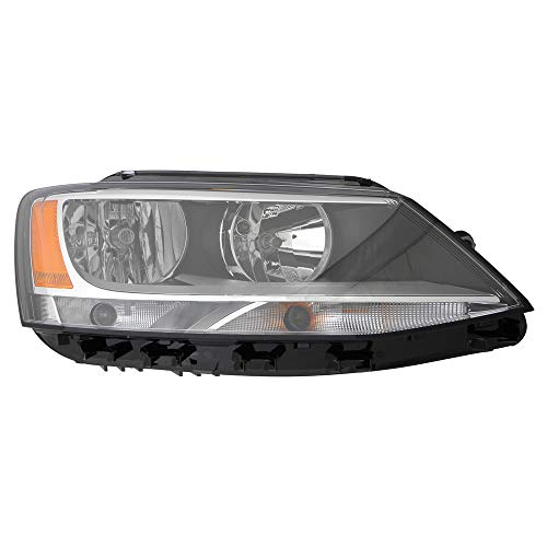 For 2011 2012 2013 2014 Volkswagen Jetta Headlight Headlamp Assembly Passenger Right Side Replacement VW2503146