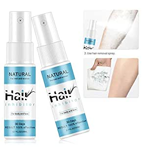 Allbestaye Hair Growth Inhibitor Cremas depilatorias Spray ...