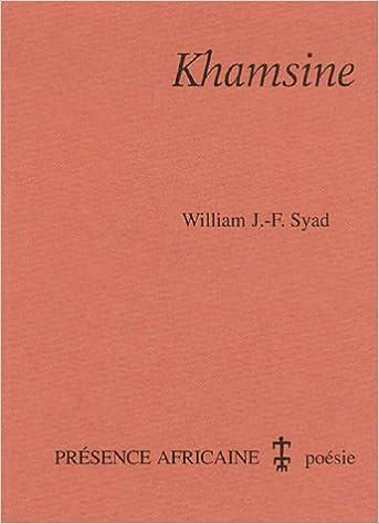 En ligne Khamsine : poèmes pdf, epub