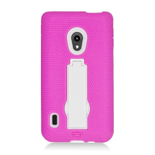 EagleCell Eagle Cell Hybrid Case with Stand for LG Lucid ...