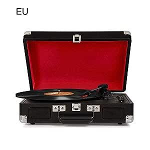heirao4072 - Tocadiscos BT inalámbrico de Vinilo MP3 con Altavoces ...