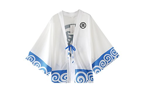 Love Gintama Cosplay Costume Sakata Gintoki Bathrobes Kimono