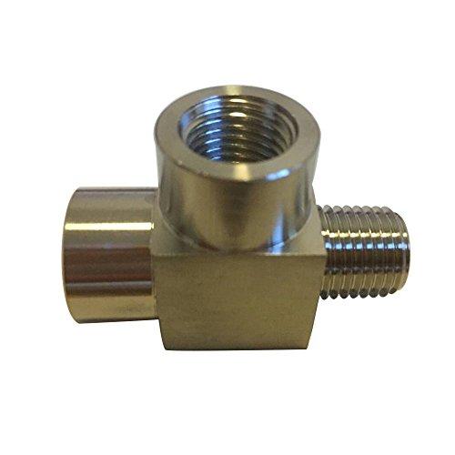 Metalwork 304 Stainless Steel Pipe Fitting, Street Tee, Male Run Tee, 1/8