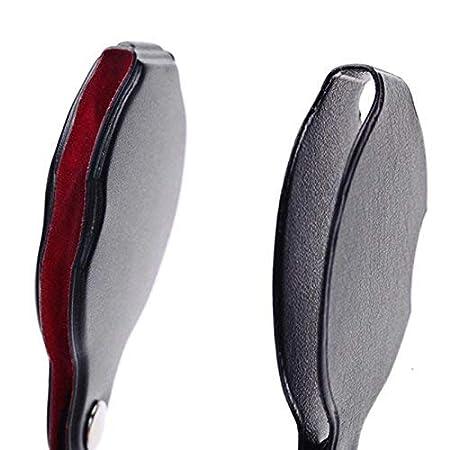 "YiFeng 8X Mini Pocket Folding Magnifier 2/"" Diameter Glass Lens Black"