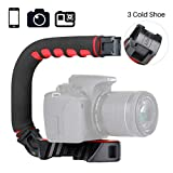 ULANZI U-Grip Pro Handheld Video Rig Steadicam with Triple Cold Shoe
