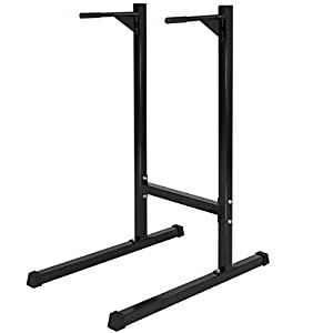 Best Choice Products Home Fitness Exercise Workout Station Stand for Dips and Push Up w/ 500lb Weight Capacity Black