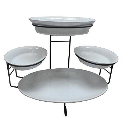 5 tiered buffet server - 2