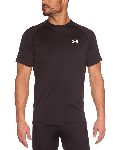 Under Armour Tech HeatGear Short Sleeve T-Shirt - XX Large - Black
