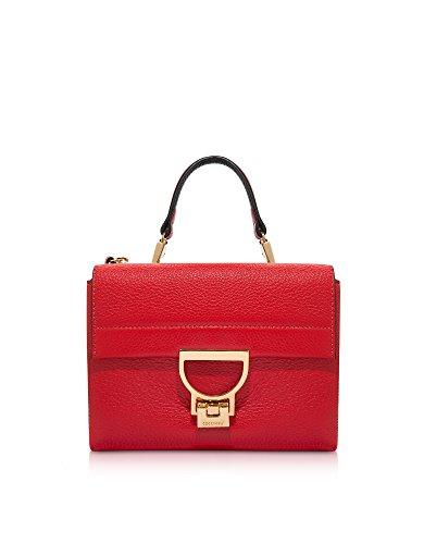 Coccinelle Borsa A Mano Donna E1BD555B701209 Pelle Rosso