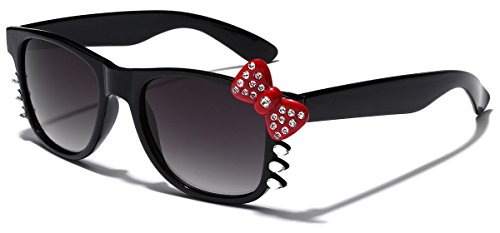 Hello Kitty Bow Women's Rhinestone Fashion Glasses with Bow and - Hello Glasses Bow With Kitty