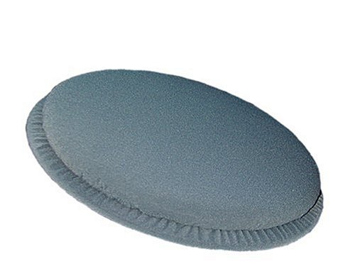 DMI 360 degree Swivel Seat Cushion, Portalbe and Lightweight, Great for Home, Office or Trave, Gray Velour by DMI