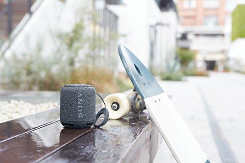 Sony SRS-XB10 Altoparlante Wireless Portatile, Extra Bass, Bluetooth, NFC, Resistente all'Acqua IPX5, Nero