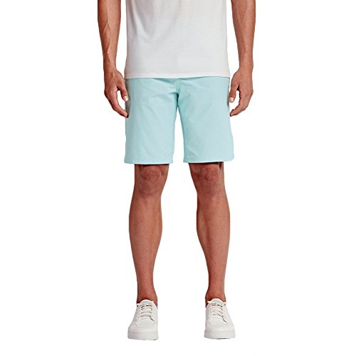 Hurley Men's Dri-FIT Chino Walkshorts Ice Cube Blue Swimsuit Bottoms - Mens Blended Chino