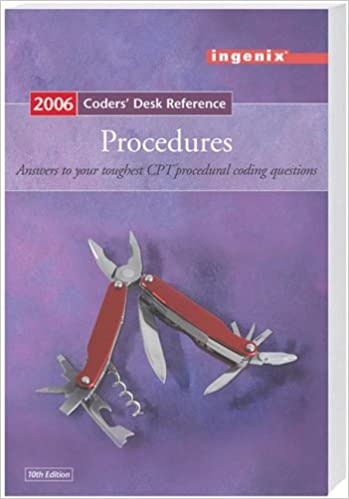 Coders' Desk Reference for Procedures - 2006